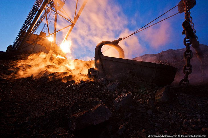 Как добывают уголь