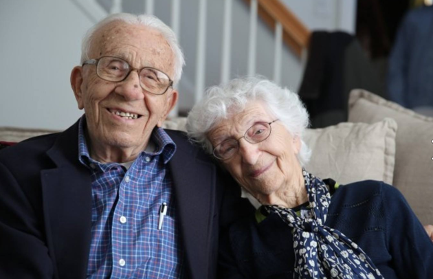 Что бывает после того, как сыграна бриллиантовая свадьба? Эта пара празднует 85-летие