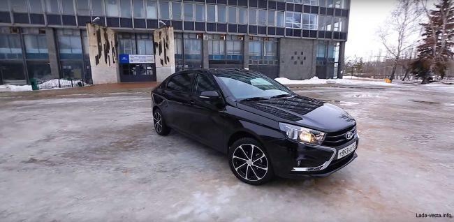 Стартап из Ижевска представил проект превращения LADA Vesta в авто премиум-класса LADA Vesta