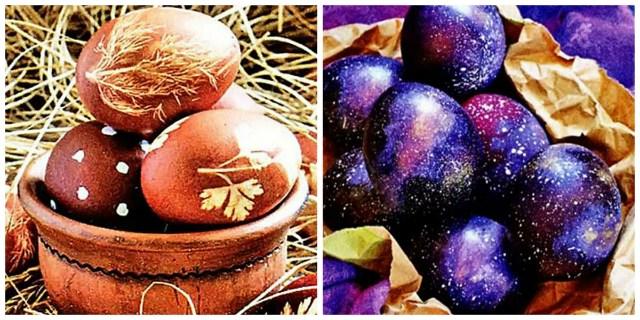 Как раскрасить пасхальные яйца?