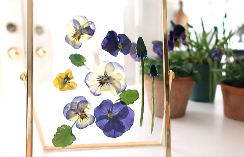Способ сохранить красоту живых цветов навсегда за одну минуту