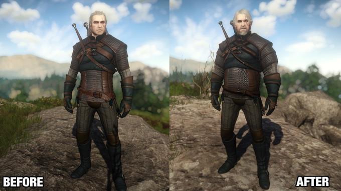 Этот мод The Witcher 3 дает Геральту пивное пузо adventures,fantasy,pc,ps,xbox,Игры,Приключения,Фентези