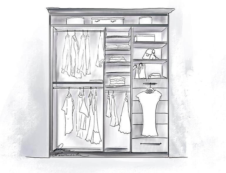 Как спланировать шкаф мечты. Сохраните чтобы не потерять полезные советы