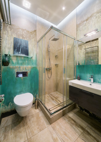 Как сделать трап для ванной Душевая с ванной: технология кабины со сливом в пол