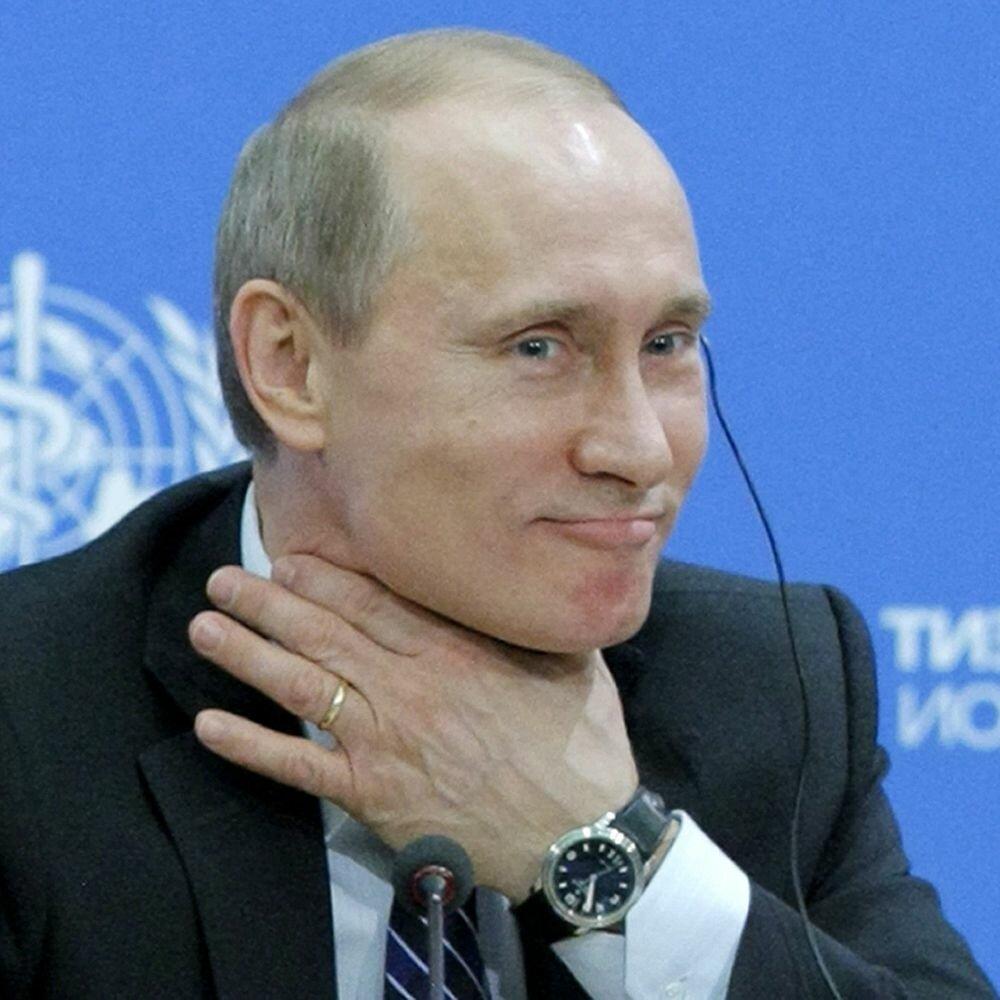 А Путин такой: уйду