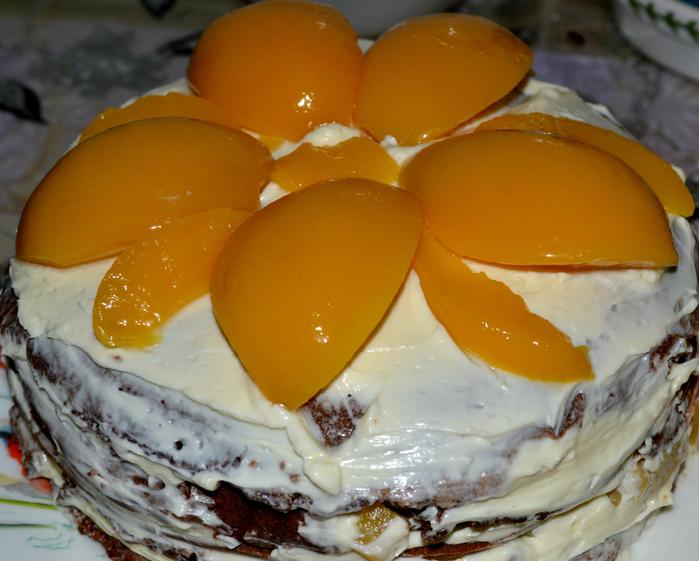 Торт на сковороде . Быстро просто и  очень  вкусно!!