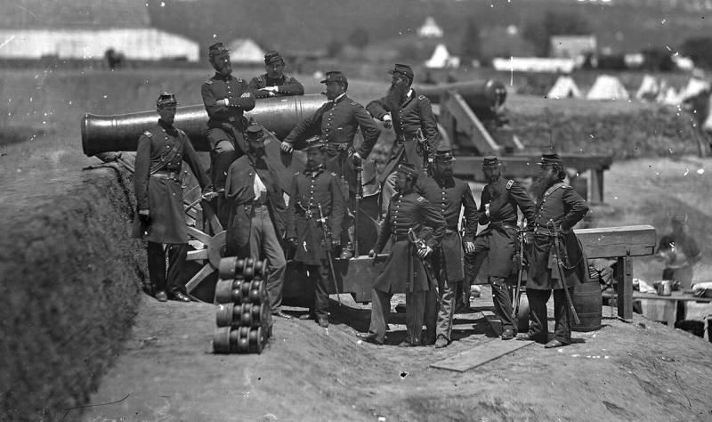 Боеприпасы Гражданской войны в США оружие