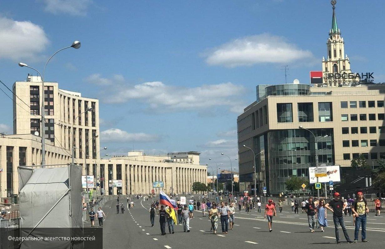 Митинг Навального на Дальнем Востоке провалился
