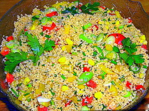 Салат из Кус-Куса. Фото-рецепт. Olga Dell