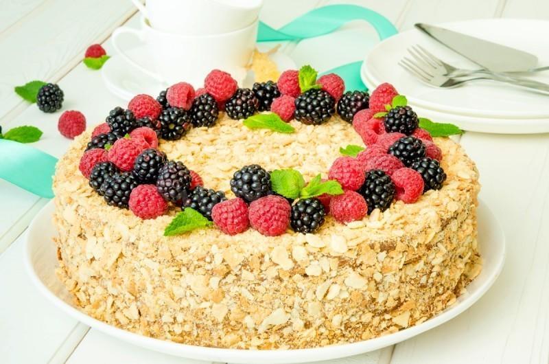 Рецепты тортов из печенья
