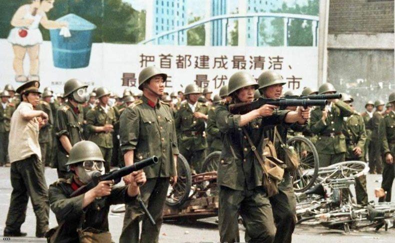 Тяньаньмэнь. Хроника
