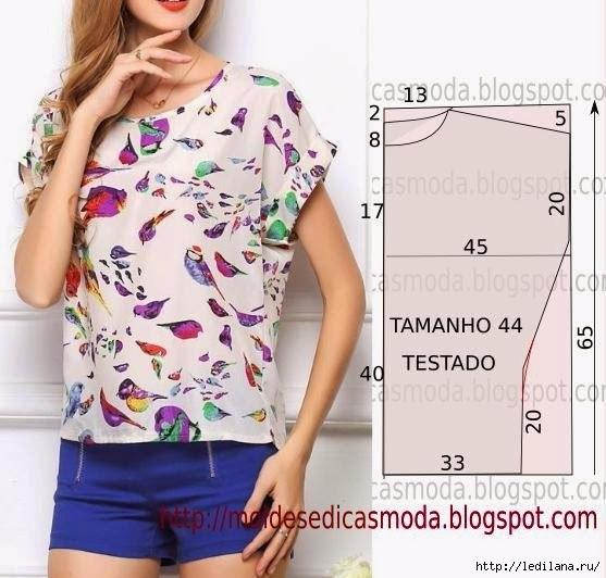 блузы выкройки 3 (557x532, 154Kb)