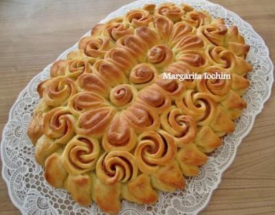 Как сделать красивый пирог из дрожжевого теста фото 155