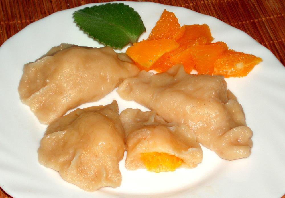 Рецепты по четвергам. Вареники с тропическими фруктами (3)