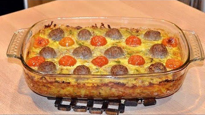 Шикарное блюдо из фарша и картофеля