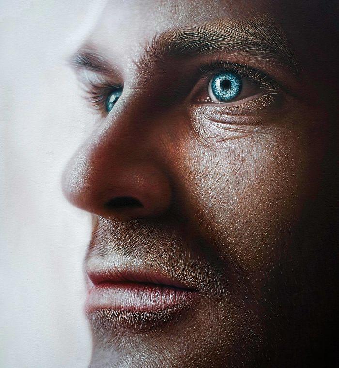 Рисунок или фото: доминиканский художник делает невероятно реалистичные портреты живопись