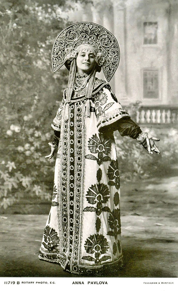 Анна Павлова, русская прима-балерина винтаж, женщины, красота, открытки, фото