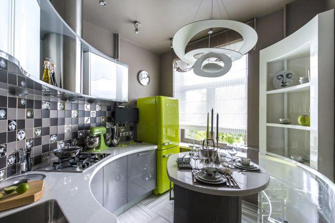 Современный Кухня by Архитектурная студия «BAZHENOV Art-studio»