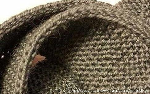 Как сделать кромку вязаного изделия плотной  и красивой