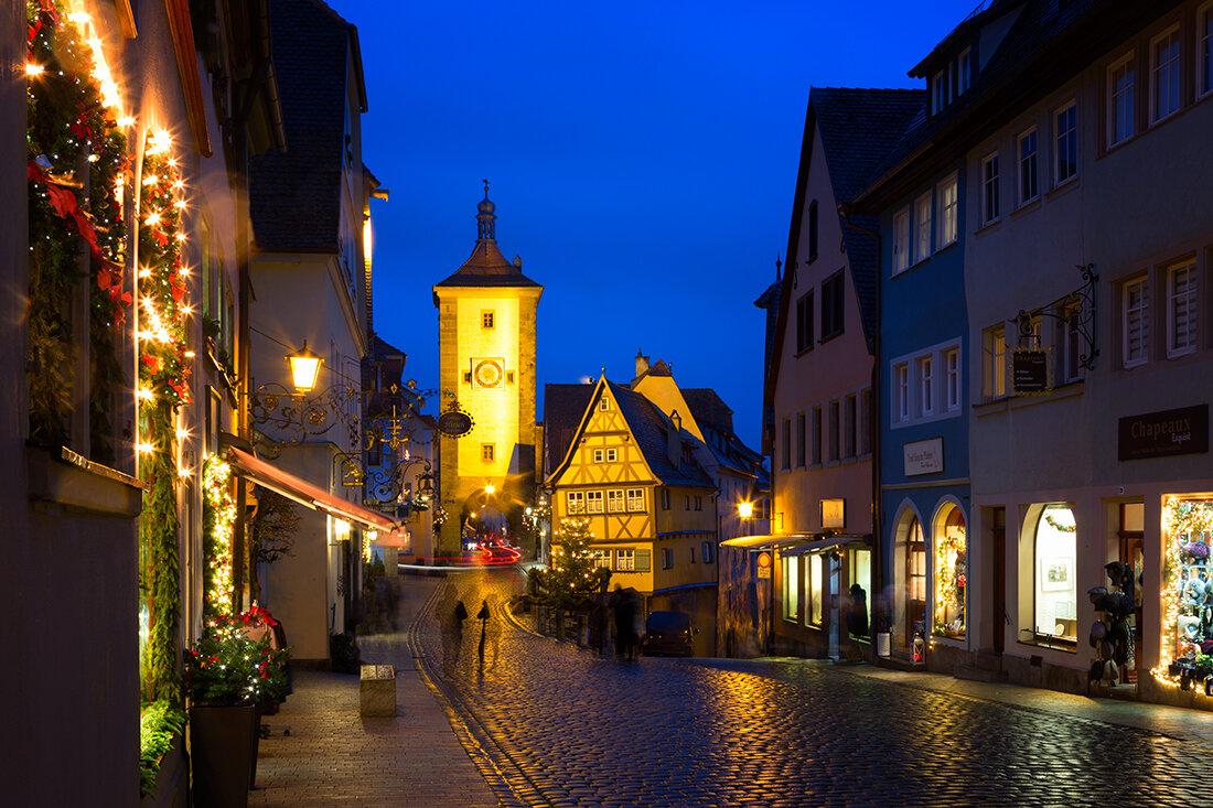 Ротенбург-на-Таубере. Самый красивый город Германии