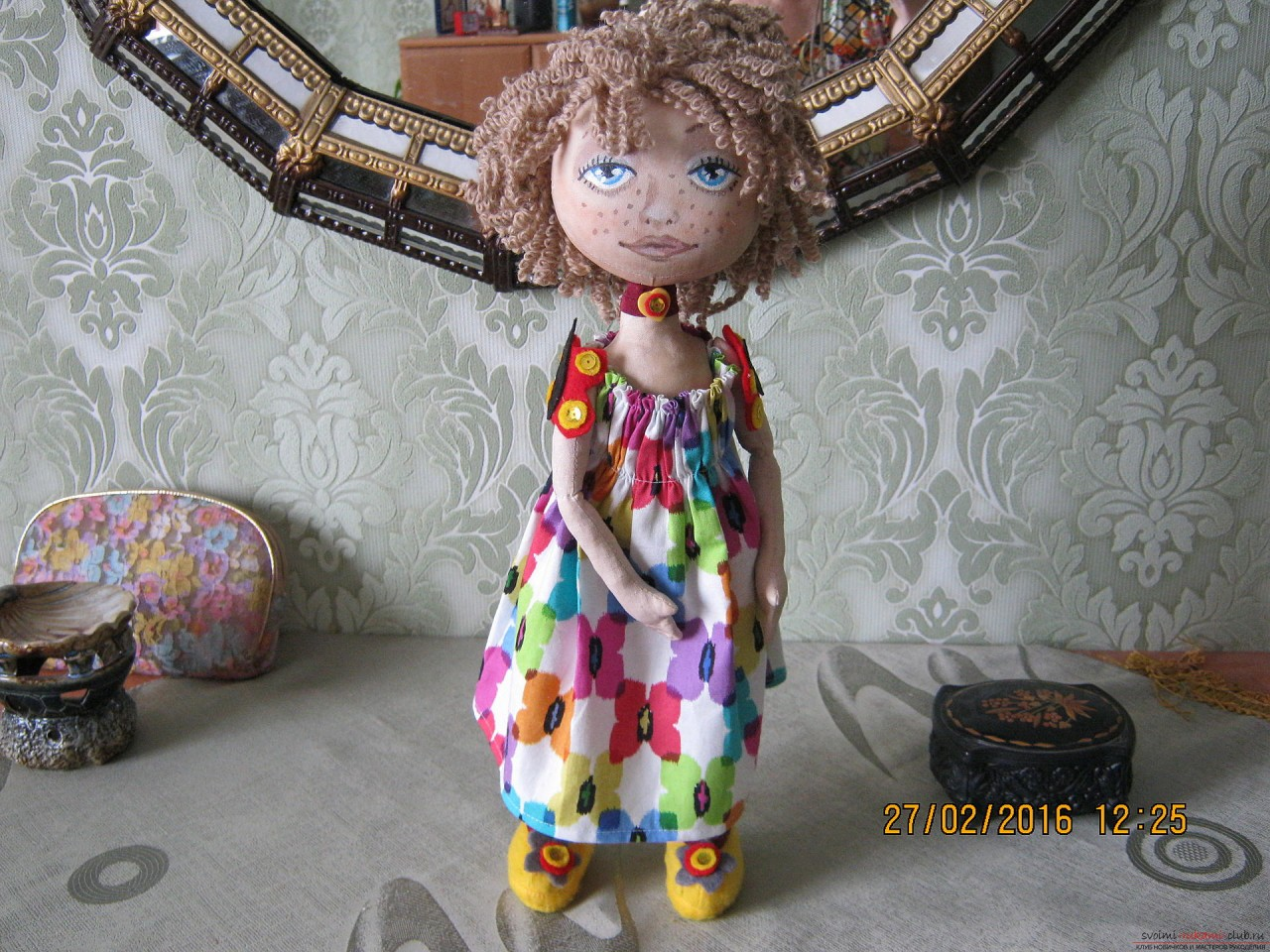Мастер-класс: текстильные интерьерные куклы