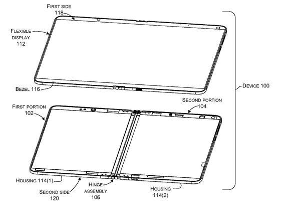 Microsoft готовит устройство с гибким дисплеем - СМИ