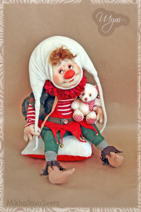 Куклы-клоуны своими руками