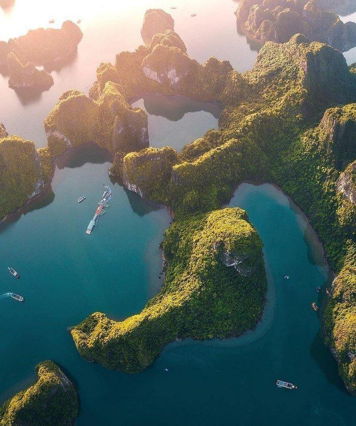 Бухта Халонг, Вьетнам позитив, фото, это интересно