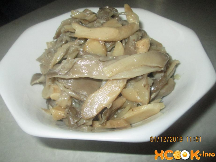 Вешенки по-корейски, или Хе из грибов