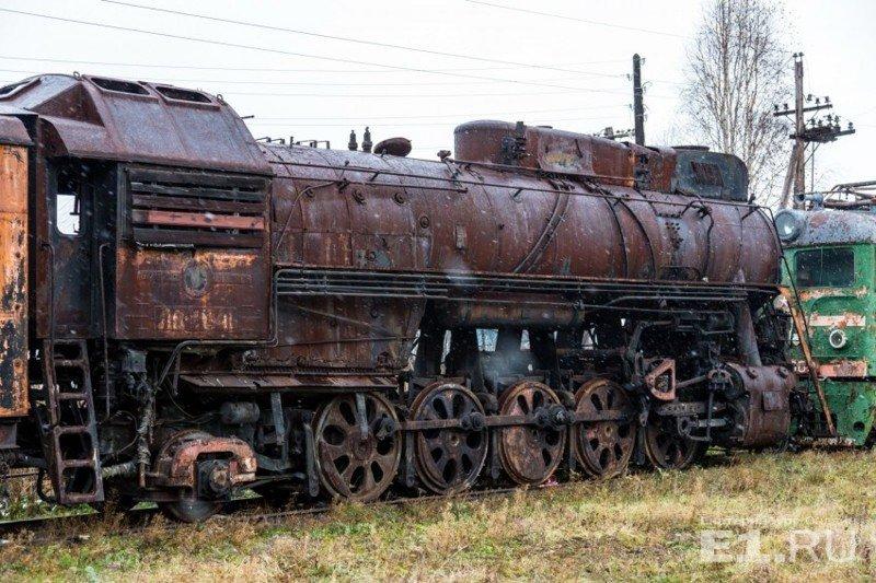 Один из самых совершенных советских паровозов – серии ЛВ. Выпускался с 1952 по 1956 год на Ворошиловградском паровозостроительном заводе. история, поезда, раритет, ржд