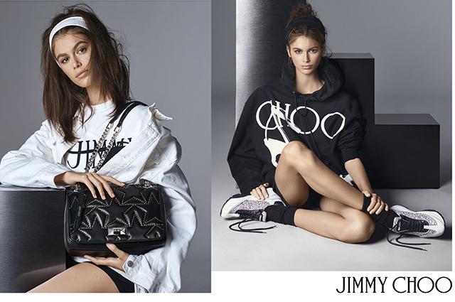 Вышла новая кампания Jimmy Choo c Кайей Гербер новости моды