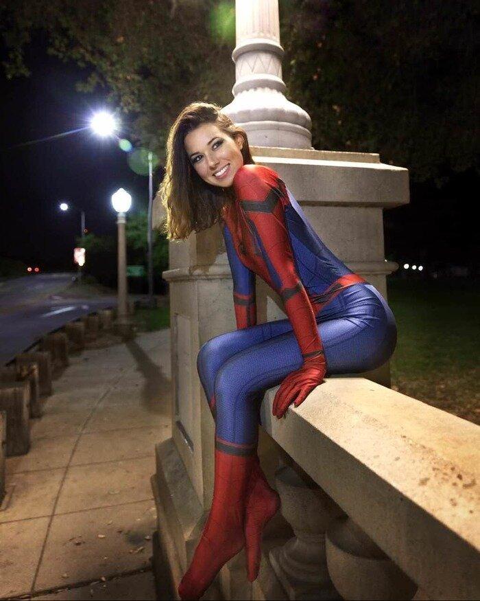 Spider-Woman Косплей позитив, фото, это интересно