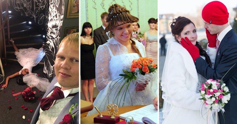 Ах, эта свадьба: фотографии, заставляющие принять обет безбрачия (20 фото)