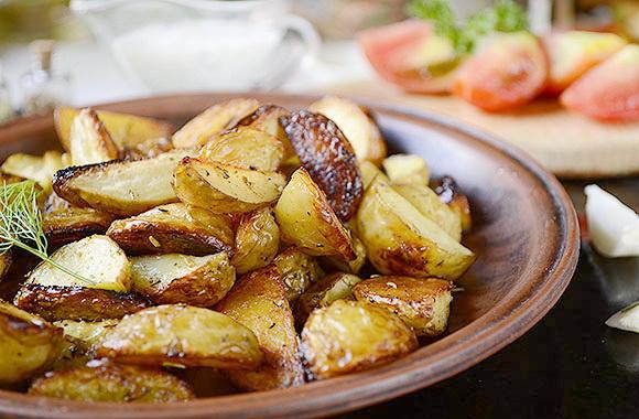Картошка по-деревенски за 25 минут
