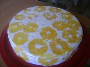 """Торт """"фруктовая легкость"""""""