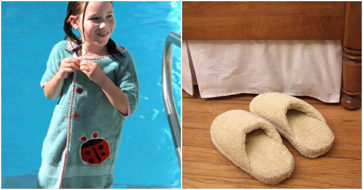Новые переделки: старое полотенце в полезную вещь для дома и дачи