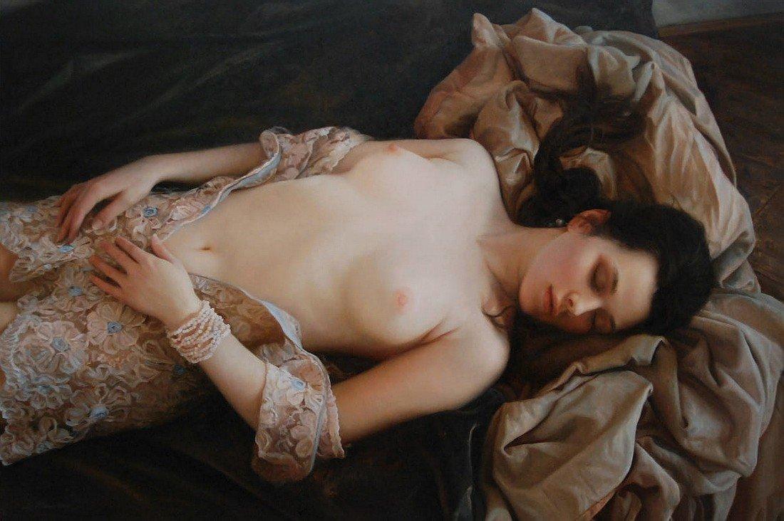 Шедевры голых женщин