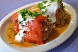 Перец, фаршированный мясом -…