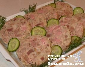 Колбаса «Любительская» из свинины с курицей