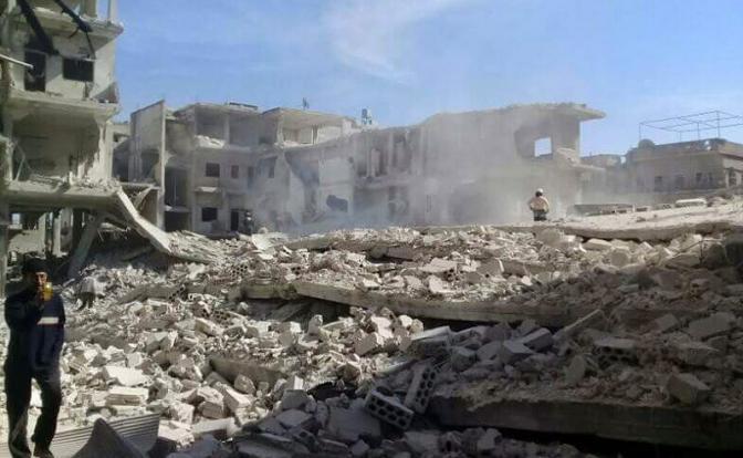 Россия безнаказанно бомбит Идлиб