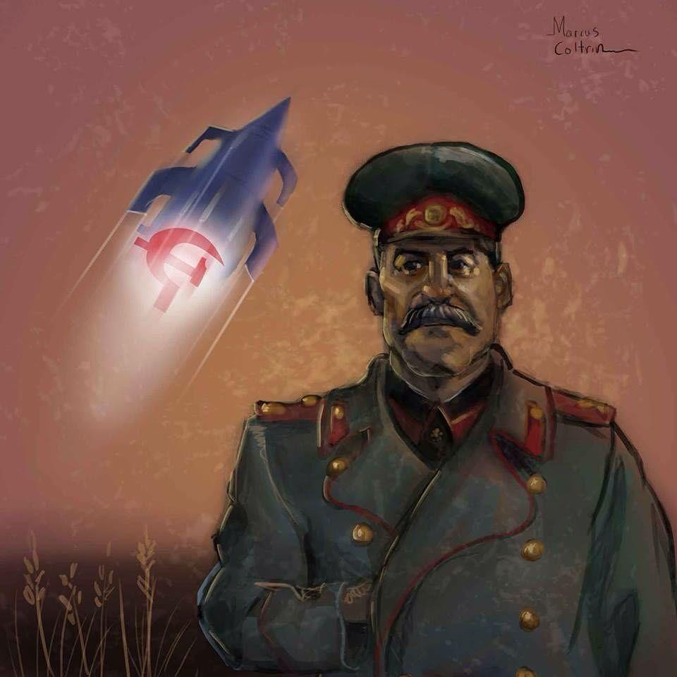 Товарищ Сталин на планете любви.