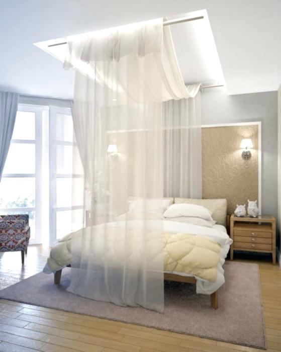 Просто, гармонично и необычно. То, что нужно для спальни. /Фото: billywarlock.com