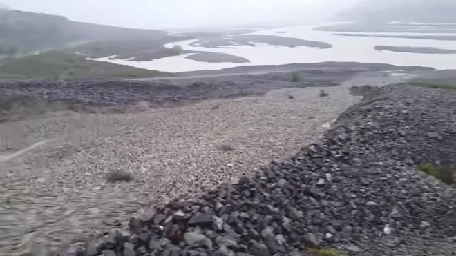 Каменная река в Новой Зеландии: невероятное явление природы граувакка,лавина,Новая Зеландия,песчаник,Пространство,ураган,циклон