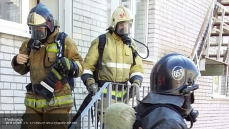 Здание правительства загорелось в Ульяновской области