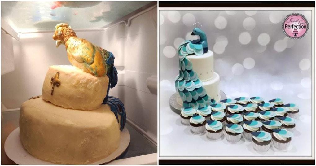 Индейка с проказой: кондитер представила свою версию воздушного свадебного торта