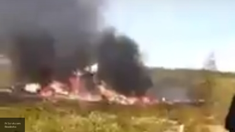"""В """"ЮТэйр"""" начали собственное расследование крушения Ми-8 в Красноярском крае"""