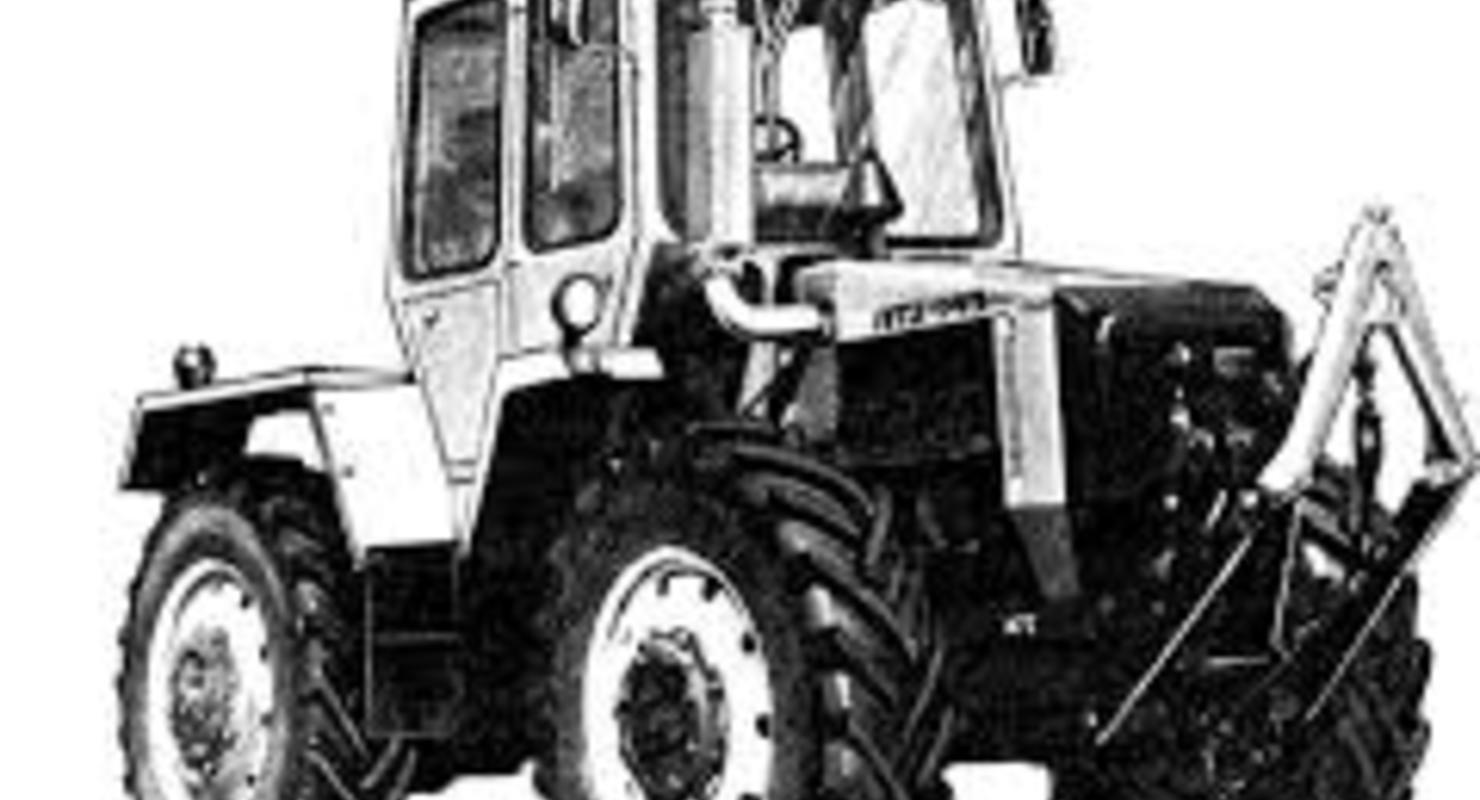 Уникальный трактор — ЛТЗ-145 Исследования