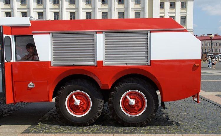 Советско-французский пожарный автомобиль ЗИЛ-Sides VMA-30 авто, зил, пожарная техника, пожарный автомобиль