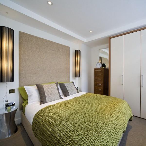 Визуальный простор в маленькой спальне: 17 приемов, избавляющих от впечатления тесноты