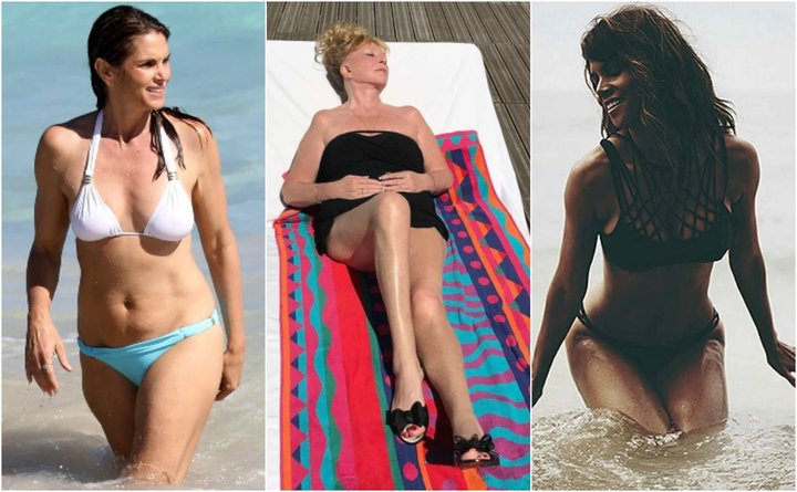 Звезды за 50, которые не стесняются носить бикини